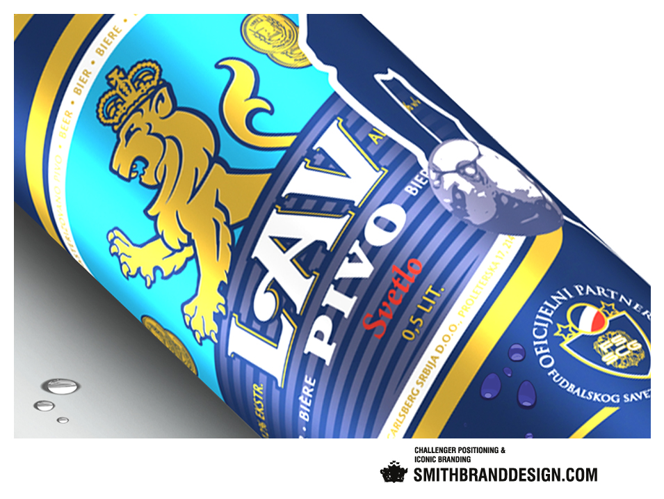 SmithBrandDesign.com Carlsberg Lav Close Up