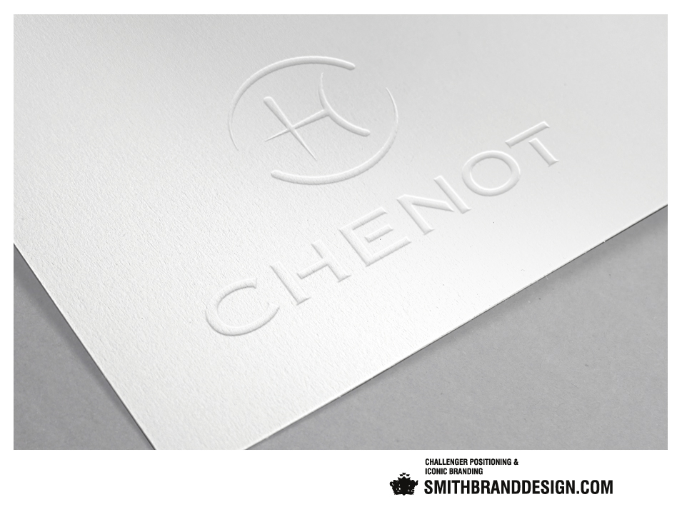 SmithBrandDesign.com Chenot Brand Embossed
