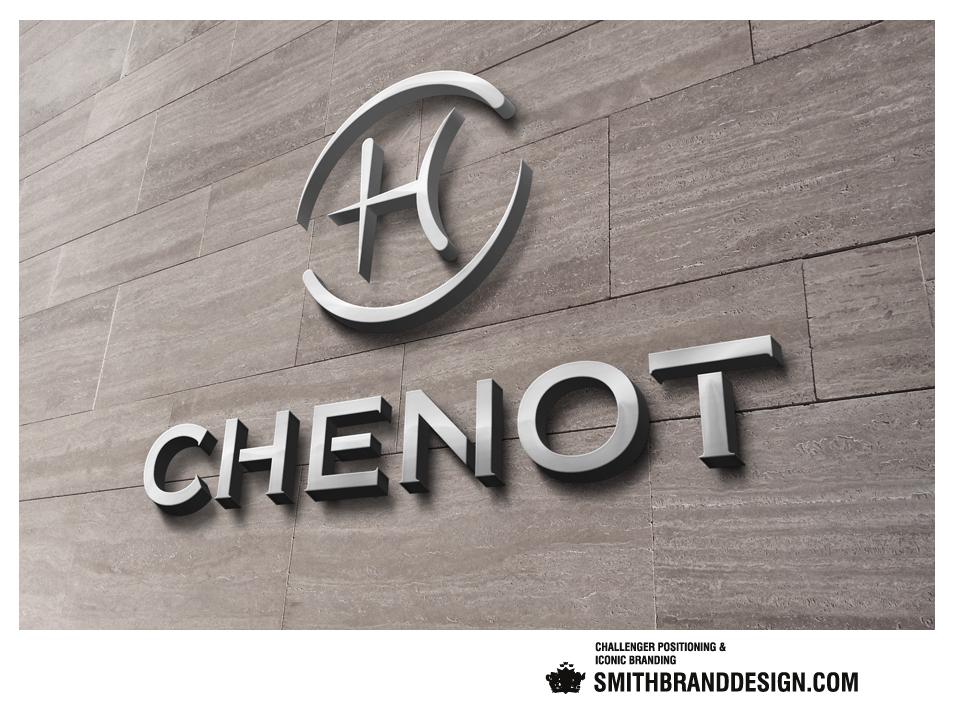 SmithBrandDesign.com Chenot Brand Wall