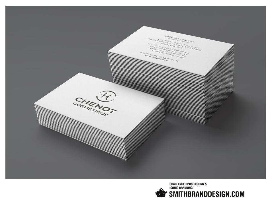 SmithBrandDesign.com Chenot Businesscards