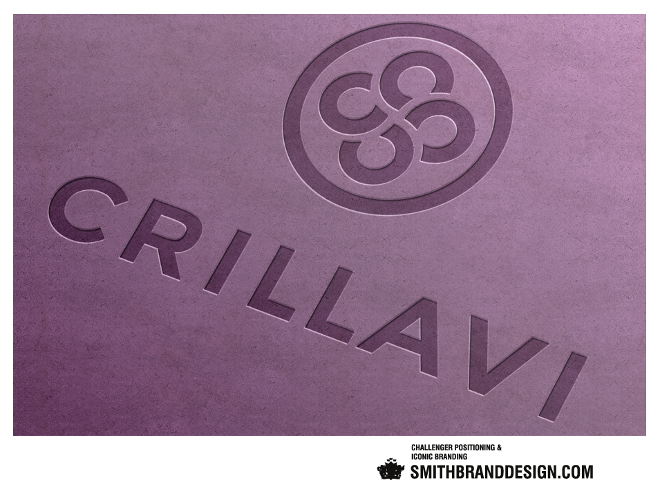 SmithBrandDesign.com Crillavi Brand Letterpress