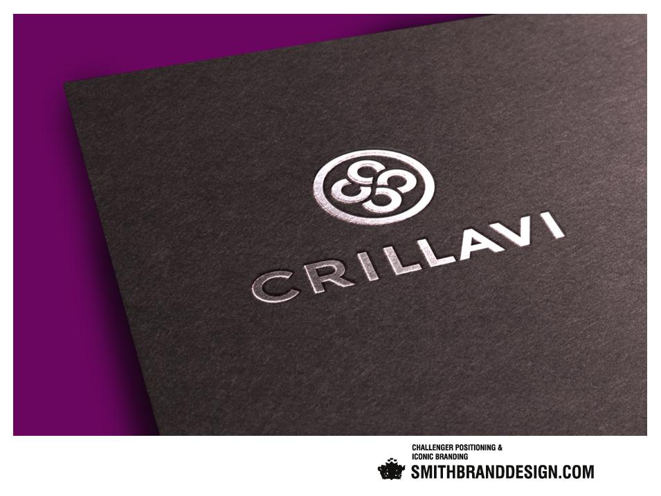 SmithBrandDesign.com Crillavi Silver Stamping Brand Mark