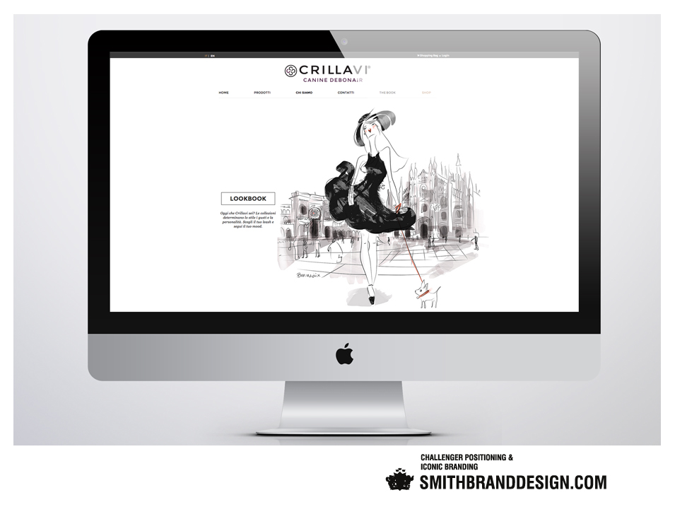 SmithBrandDesign.com Crillavi Website