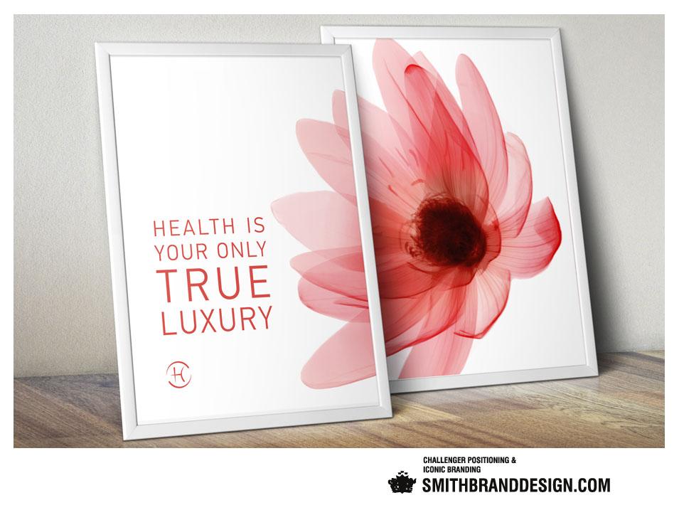 SmithBrandDesign.com Espace Privé Chenot Posters