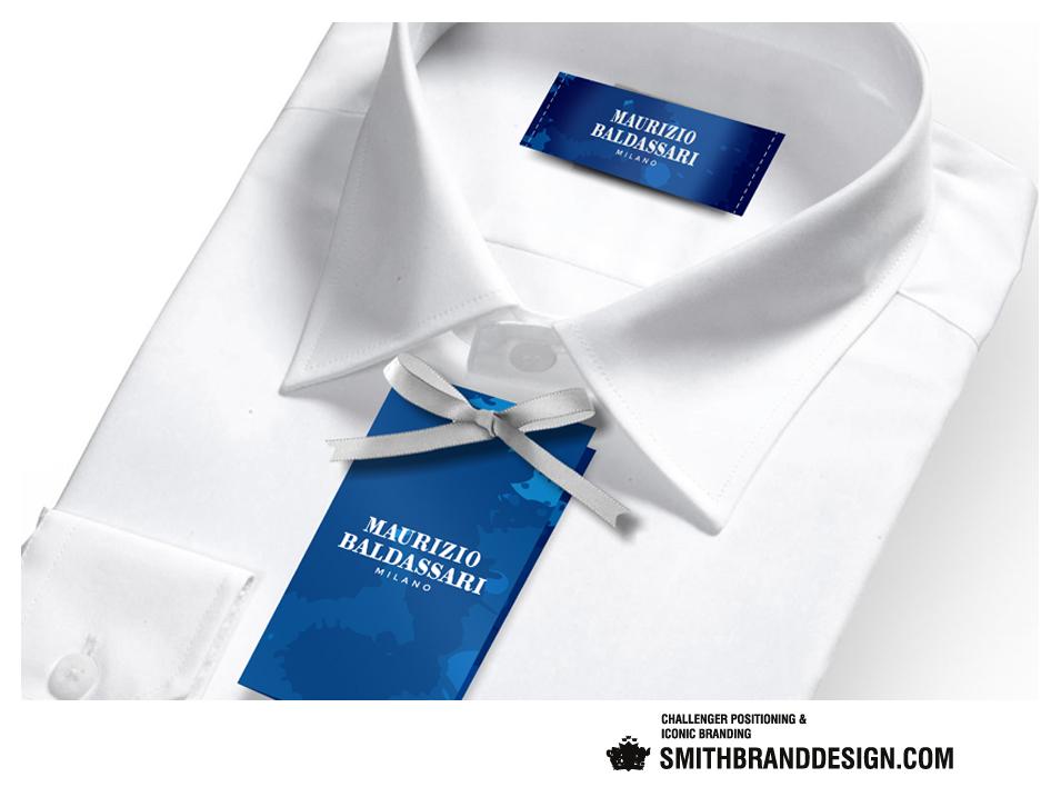 SmithBrandDesign.com Maurizio Baldassari Milano Hang Tag