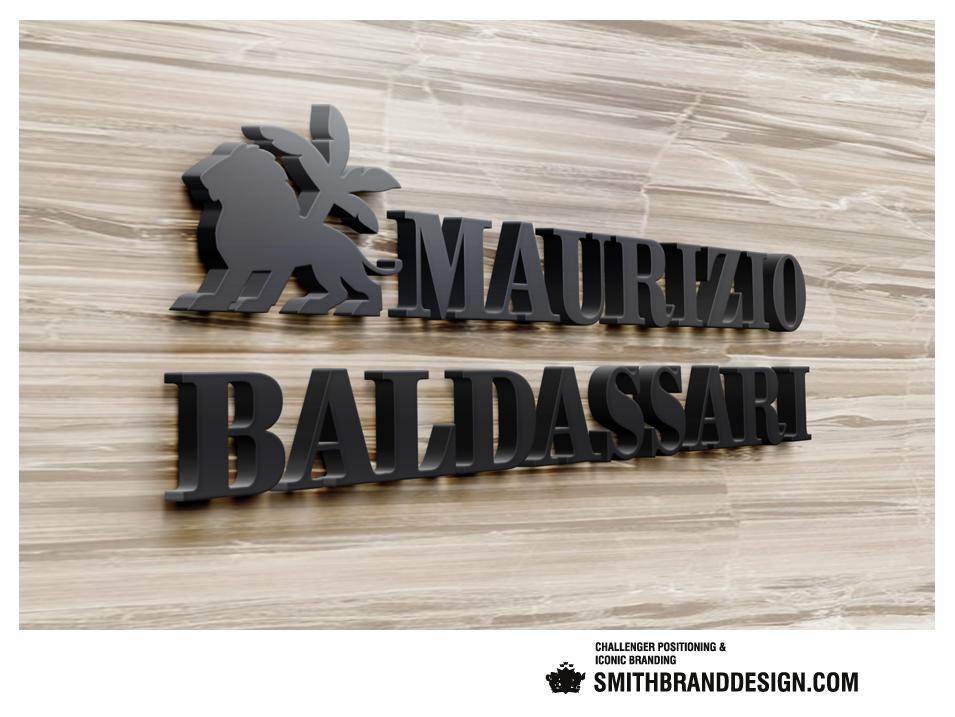 SmithBrandDesign.com Maurizio Baldassari Wall Brand Mark