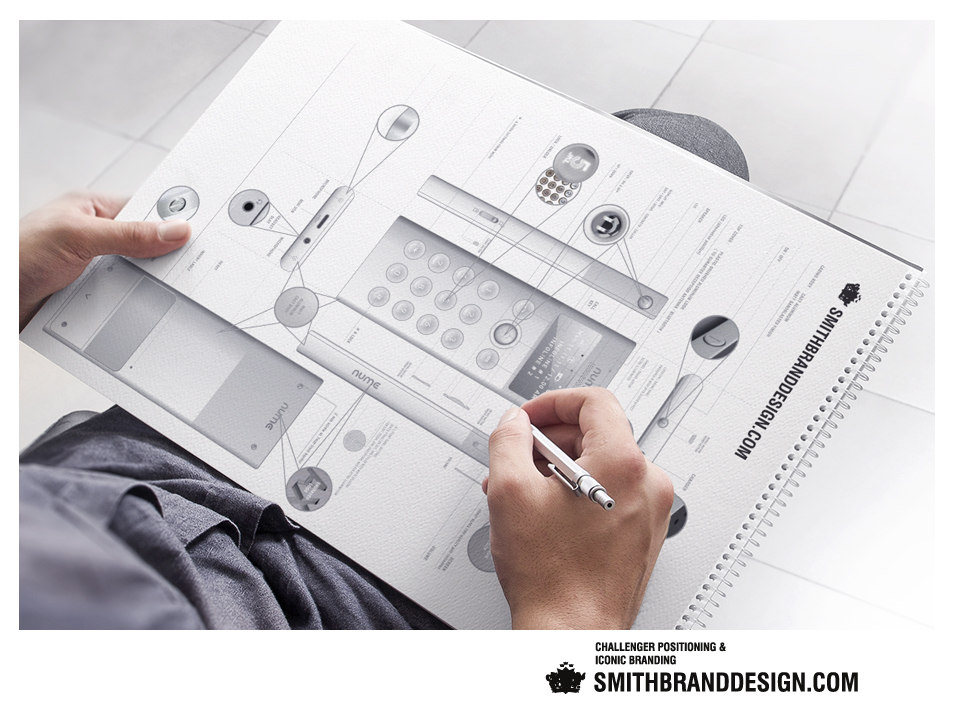 SmithBrandDesign.com Nume Product Drafting