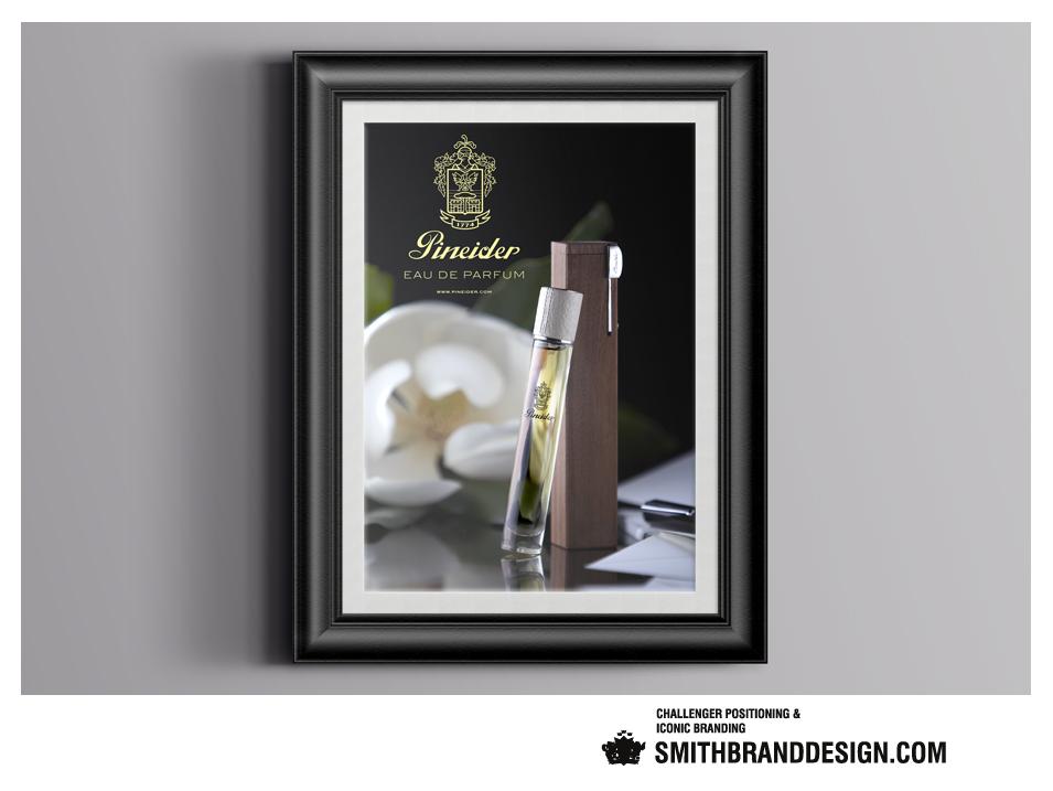 SmithBrandDesign.com Pineider Framed Poster