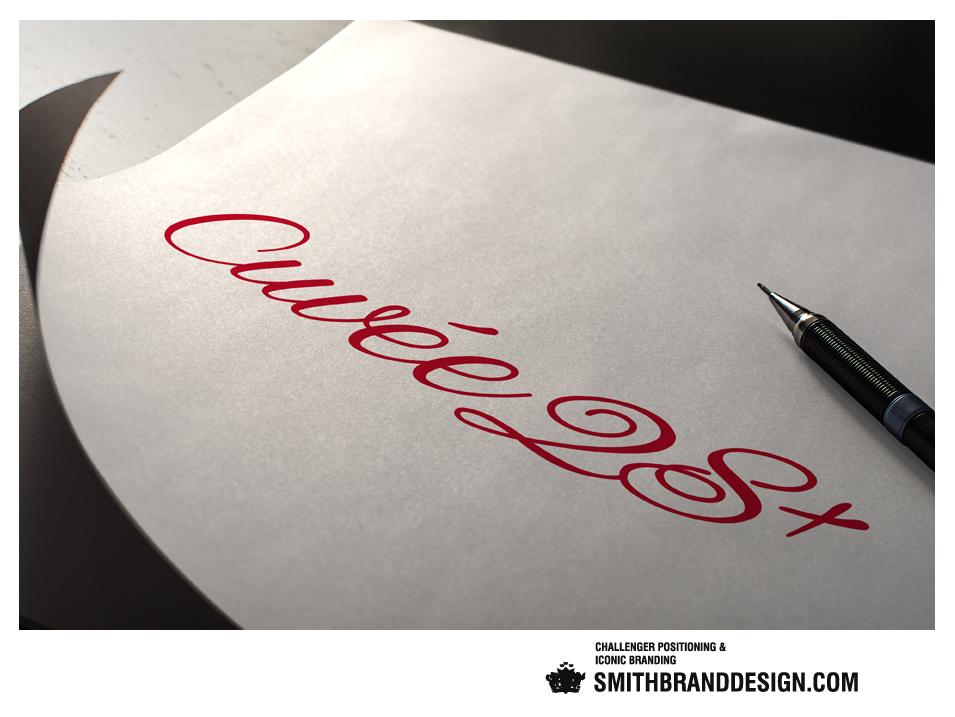 SmithBrandDesign.com Rotari Cuvée 28 Brand Sketch