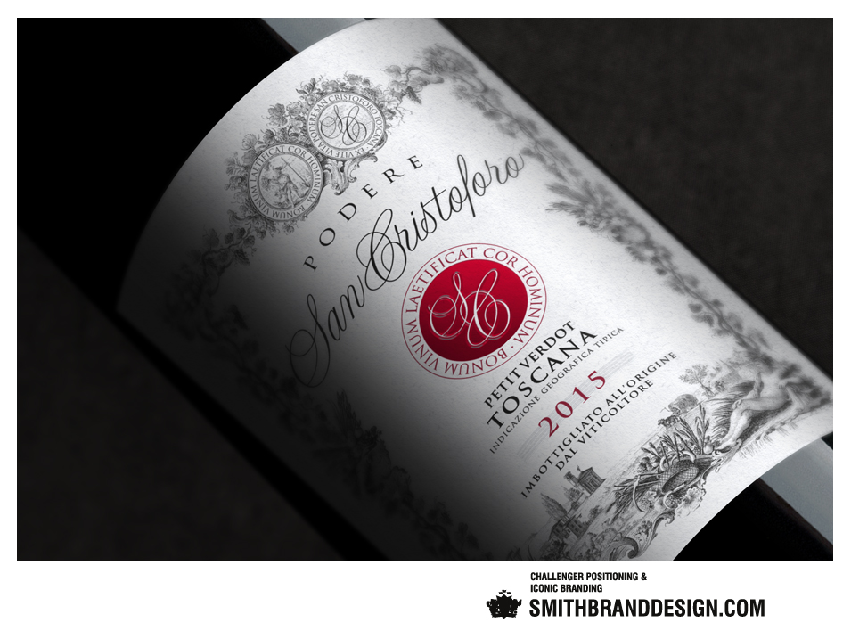 SmithBrandDesign.com San Cristoforo Label