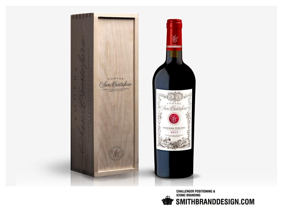 SmithBrandDesign.com San Cristoforo Package