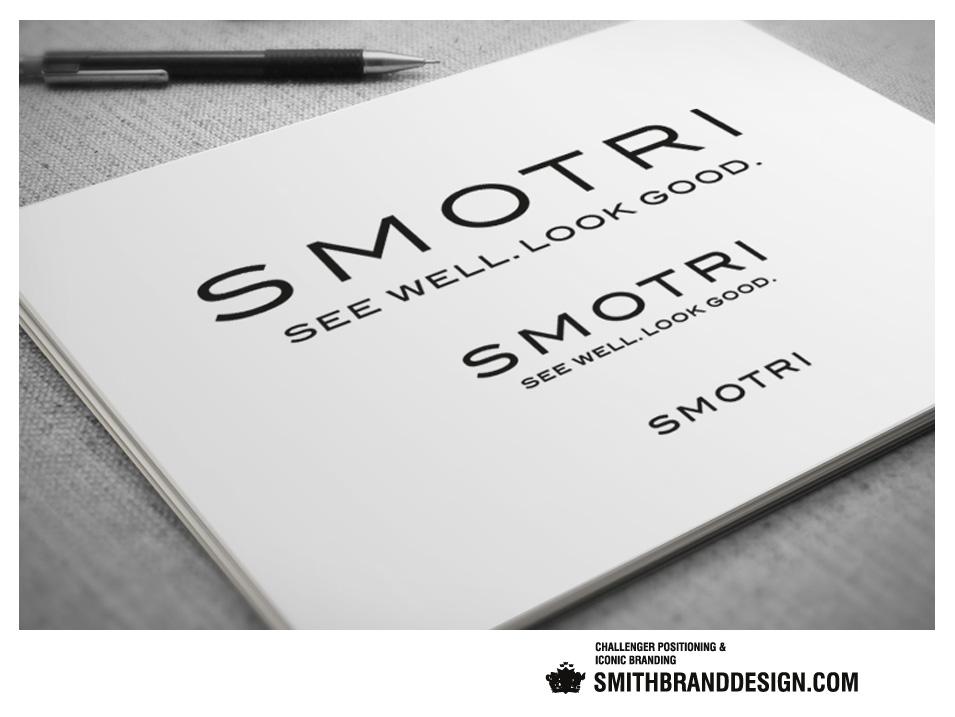 SmithBrandDesign.com Smotri Brand Sketch