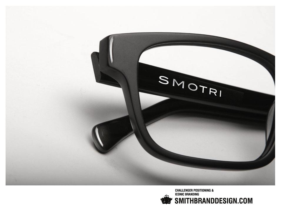 SmithBrandDesign.com Smotri Branded Frames