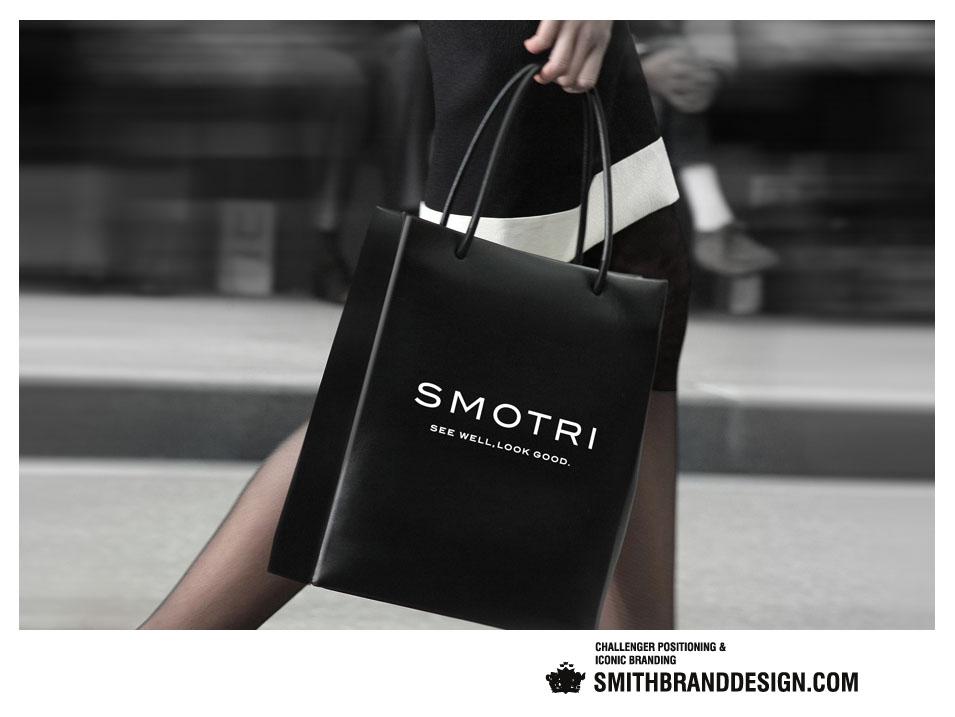 SmithBrandDesign.com Smotri Shopping Bag