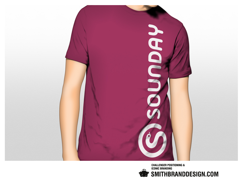 SmithBrandDesign.com Sounday T-Shirt