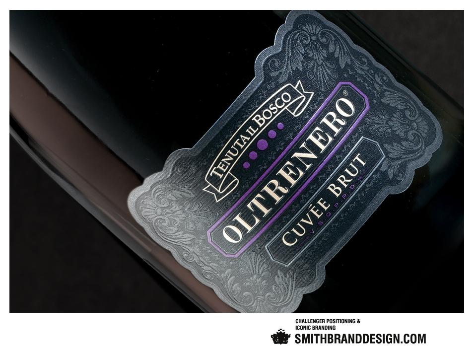 SmithBrandDesign.com Tenuta il Bosco Label